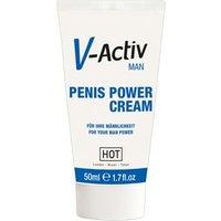 """""""V-Activ Penis Power Cream"""", mit ätherischen Extrakten"""