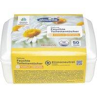 Feuchte Toilettentücher in Spenderbox »Kamille Deluxe«