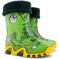 Toughees Kids Character Lined Wellies