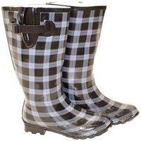 Ladies Wide Calf Wellington Boots
