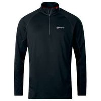 Berghaus Long Sleeve Zip Neck 2 0 Tech T-Shirt
