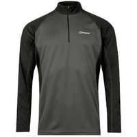 Berghaus Long Sleeve Zip Neck Tech T-shirt