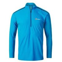 Berghaus Super Long Sleeve Zip Kneck Tech T-shirt