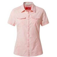 Craghoppers Womens NosiLife Short Sleeved Adventure II Shirt