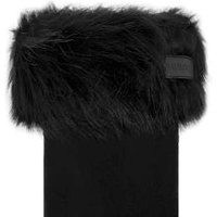 Hunter Faux Fur Cuff Boot Socks