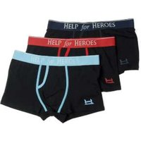 Help for Heroes Boxer Trunks - 3 Pack