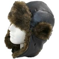 ProClimate Leather Look Trapper Hat