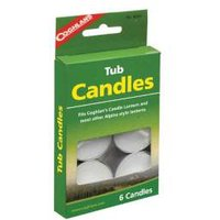 Coghlan s Tub Candles - Pack of 6