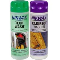 Nikwax Twin Pack Tech Wash and TX Direct cheapest