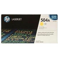 HP 504A CE252A - Geel
