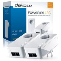 Powerline homeplug starterkit dLAN 550 duo+