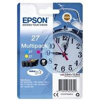 Epson C13T27054012 3.6ml 300pagina's Cyaan, Geel inktcartridge