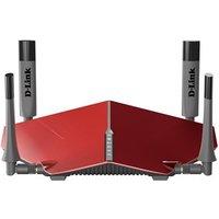 D-Link AC3150 Dual-band (2.4 GHz-5 GHz) Gigabit Ethernet Grijs, Rood