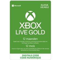 Xbox Live 12 Maanden Gold Membership Digitale code