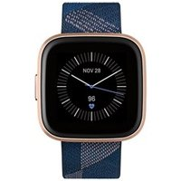 Fitbit Versa 2 - Rosé Goud (Blauw)