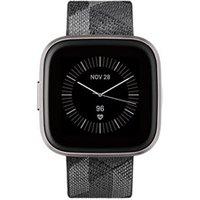Fitbit Versa 2 - Zwart (Grijs)