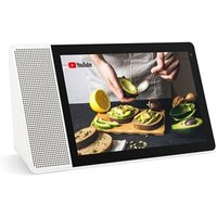 Lenovo 8 HD Smart Display Slimme luidspreker Wit, Hout