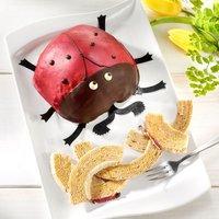 Baumkuchen Marienkäfer