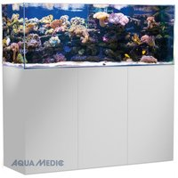 AQUA MEDIC Armatus Aquarium mit Unterschrank weiß