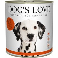 Dog's Love Classic 800g Dose Hundenassfutter