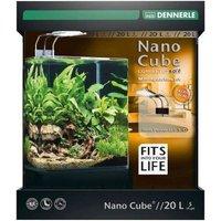 DENNERLE Nano Cube Complete+ Soil 20 Liter Aquariumset