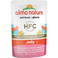 Almo Nature HFC Jelly 55g Beutel Katzennassfutter