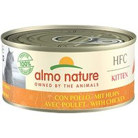Almo Nature HFC Complete Kitten 150g Dose Katzennassfutter