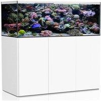AQUA MEDIC Armatus XD Meerwasser-Aquarium mit Unterschrankfiltersystem weiß