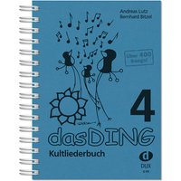 Das Ding 4 - Kultliederbuch, blau, neu
