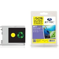 Brother LC970Y Yellow Remanufactured Ink Cartridge by JetTec B97Y