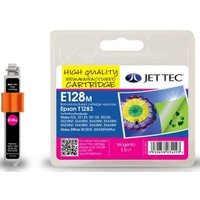 Image of Epson T1283 Magenta Remanufactured Ink Cartridge by JetTec E128M