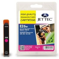 Epson T2613 Magenta Remanufactured Ink Cartridge by JetTec  E26M