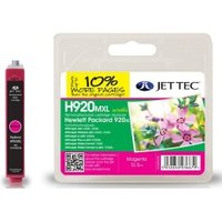 Image of HP920XL CD973AE Magenta Remanufactured JetTec Ink Cartridge H920MXL