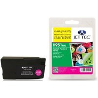 Image of HP951XL Magenta Remanufactured Ink Cartridge by JetTec H951MXL