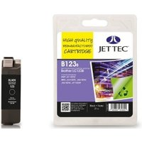 Image of Brother LC123 Black Remanufactured Ink Cartridge by JetTec B123B