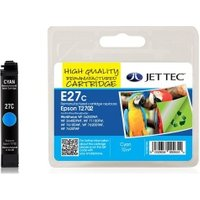 Epson T2702 Cyan Remanufactured Ink Cartridge by JetTec E27C