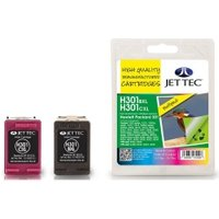 Image of HP301XL CH563EE Black HP301XL CH564EE Colour Multipack Remanufactured Ink Cartridge by JetTec H301XLB C