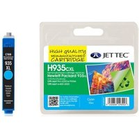 Image of HP935XL Cyan Remanufactured Ink Cartridge by JetTec H935CXL
