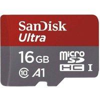 'Sandisk Ultra Microsdhc Memory Card 98mbs Class 10 Uhs-i 16gb