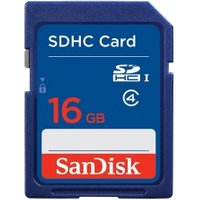 Image of SanDisk Secure Digital Card SDHC CLASS 4 16GB