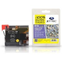 Image of Brother LC970Y LC1000Y Yellow Compatible JetTec Ink Cartridge B10Y