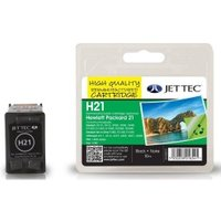 Image of HP21 C9351AE Black Remanufactured Ink Cartridge by JetTec H21