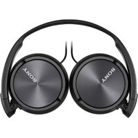 Sony ZX310AP OnEar Headphones  Metallic Black