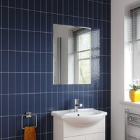 Alpine Niveus Rectangular Bevelled Edge Bathroom Mirror 700 x 500mm