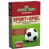 Greenfield Sport + Spiel Rasensamen, 1 kg
