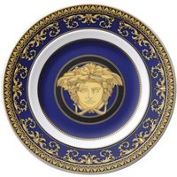 Rosenthal Versace Medusa blue Brotteller 18 cm