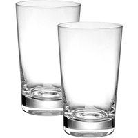 Villeroy & Boch Purismo Bar Becher mittel Glas Set 2-tlg. h: 125 mm / 340 ml