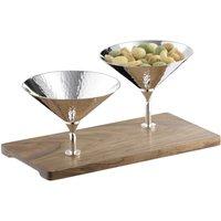 Robbe & Berking Besteck Martele Bar Collection - 90 gramm versilbert Snackbar 23,8x11,8x10,5 cm