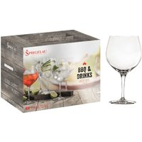 Spiegelau Gläser BBQ & DRINKS Gin & Tonic Glas Set 6-tlg.