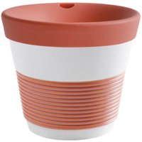 Kahla cupit - Magic Grip coral sunset To Go Becher 0,23 L mit Trinkdeckel 10x2 cm